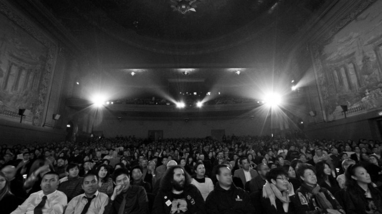 Castro Theater at Bay Area Premiere of Linsanity, Opening Night of CAAMFest 2013